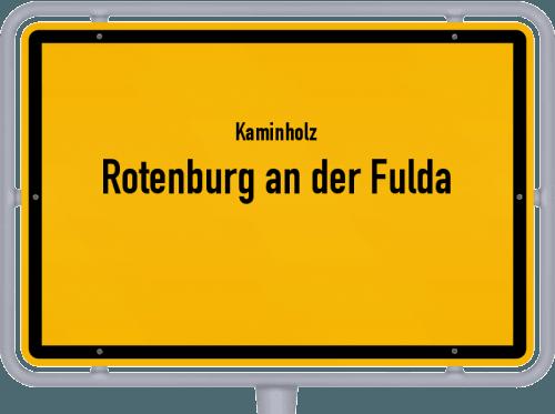 Kaminholz & Brennholz-Angebote in Rotenburg an der Fulda, Großes Bild
