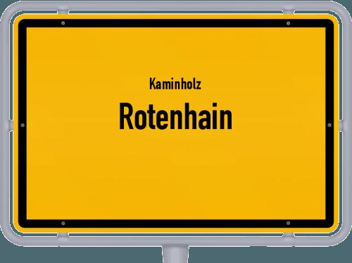 Kaminholz & Brennholz-Angebote in Rotenhain, Großes Bild