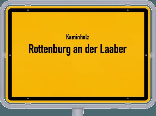 Kaminholz & Brennholz-Angebote in Rottenburg an der Laaber, Großes Bild