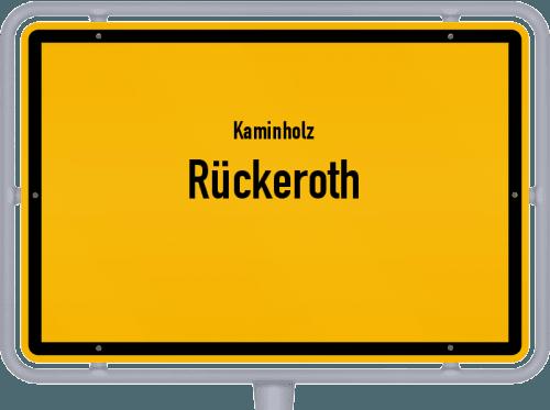 Kaminholz & Brennholz-Angebote in Rückeroth, Großes Bild
