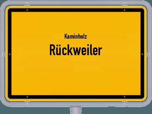 Kaminholz & Brennholz-Angebote in Rückweiler, Großes Bild