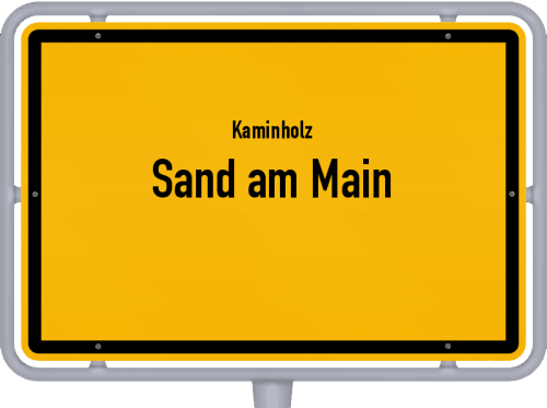 Kaminholz & Brennholz-Angebote in Sand am Main, Großes Bild