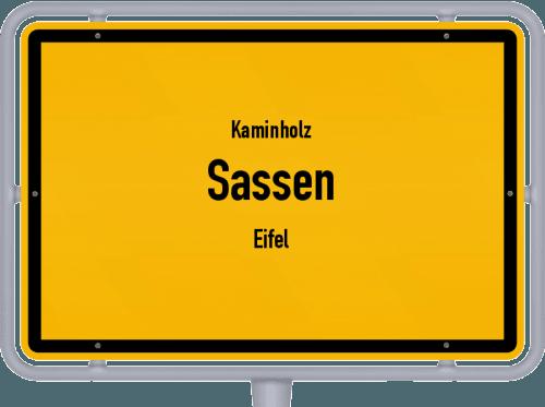 Kaminholz & Brennholz-Angebote in Sassen (Eifel), Großes Bild