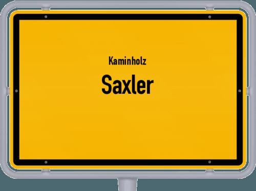 Kaminholz & Brennholz-Angebote in Saxler, Großes Bild