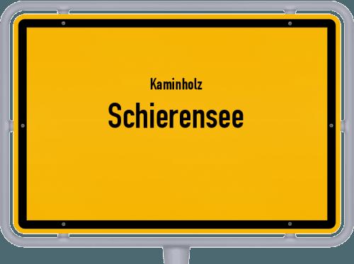 Kaminholz & Brennholz-Angebote in Schierensee, Großes Bild
