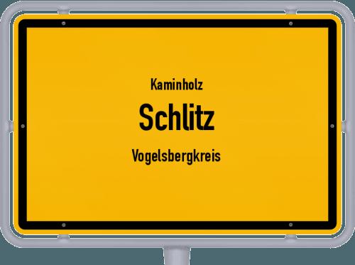 Kaminholz & Brennholz-Angebote in Schlitz (Vogelsbergkreis), Großes Bild