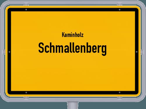 Kaminholz & Brennholz-Angebote in Schmallenberg, Großes Bild