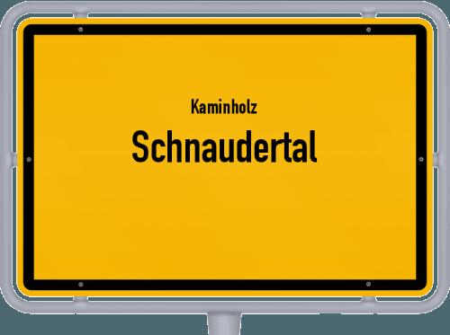 Kaminholz & Brennholz-Angebote in Schnaudertal, Großes Bild