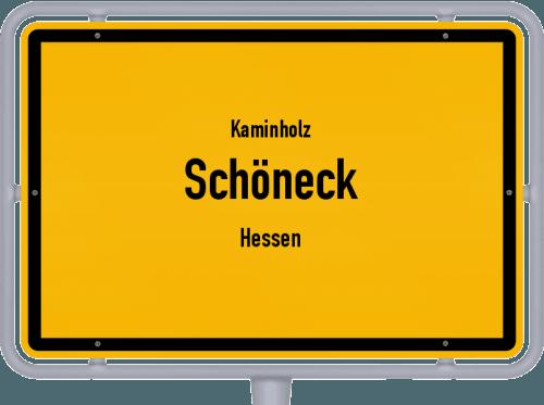 Kaminholz & Brennholz-Angebote in Schöneck (Hessen), Großes Bild