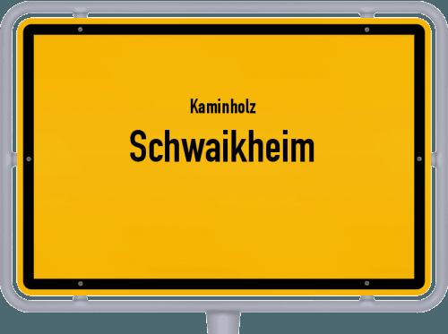 Kaminholz & Brennholz-Angebote in Schwaikheim, Großes Bild