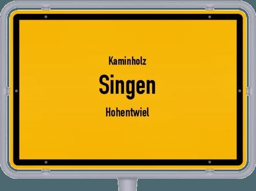 Kaminholz & Brennholz-Angebote in Singen (Hohentwiel), Großes Bild