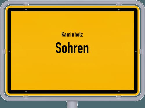 Kaminholz & Brennholz-Angebote in Sohren, Großes Bild