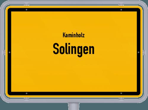 Kaminholz & Brennholz-Angebote in Solingen, Großes Bild