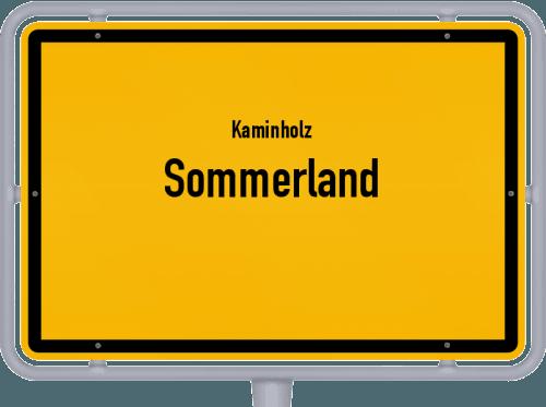 Kaminholz & Brennholz-Angebote in Sommerland, Großes Bild