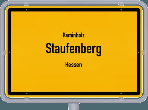 Kaminholz & Brennholz-Angebote in Staufenberg (Hessen), Großes Bild