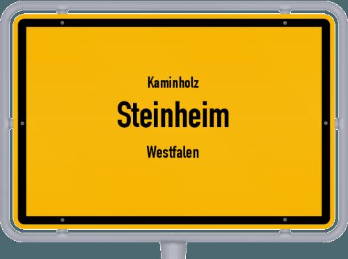 Kaminholz & Brennholz-Angebote in Steinheim (Westfalen), Großes Bild