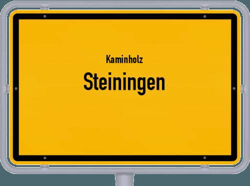 Kaminholz & Brennholz-Angebote in Steiningen, Großes Bild