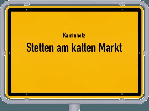 Kaminholz & Brennholz-Angebote in Stetten am kalten Markt, Großes Bild