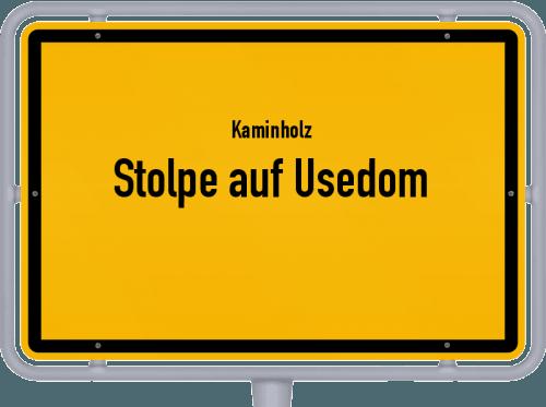 Kaminholz & Brennholz-Angebote in Stolpe auf Usedom, Großes Bild