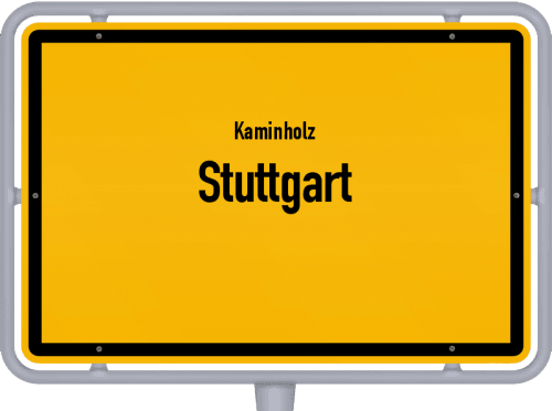 Kaminholz & Brennholz-Angebote in Stuttgart, Großes Bild