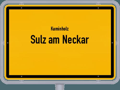 Kaminholz & Brennholz-Angebote in Sulz am Neckar, Großes Bild