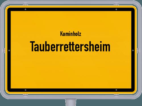 Kaminholz & Brennholz-Angebote in Tauberrettersheim, Großes Bild