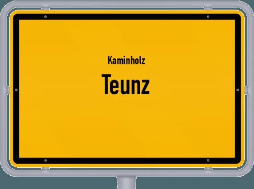 Kaminholz & Brennholz-Angebote in Teunz, Großes Bild