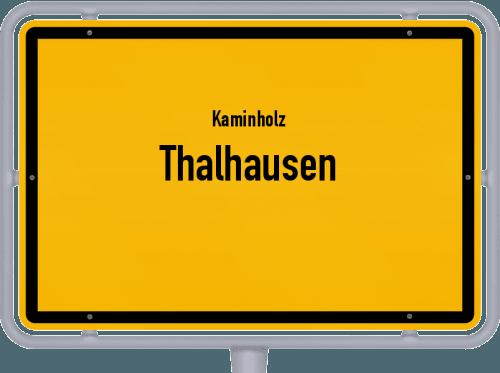 Kaminholz & Brennholz-Angebote in Thalhausen, Großes Bild