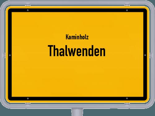 Kaminholz & Brennholz-Angebote in Thalwenden, Großes Bild