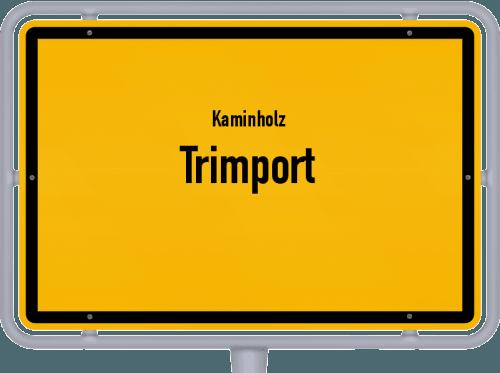 Kaminholz & Brennholz-Angebote in Trimport, Großes Bild
