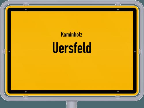 Kaminholz & Brennholz-Angebote in Uersfeld, Großes Bild