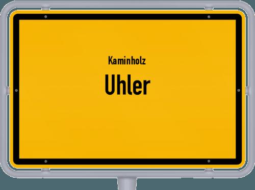 Kaminholz & Brennholz-Angebote in Uhler, Großes Bild