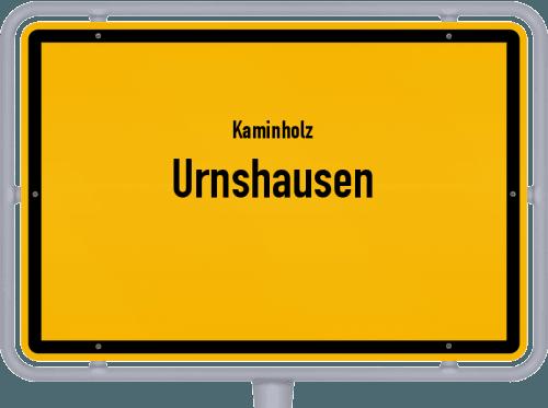 Kaminholz & Brennholz-Angebote in Urnshausen, Großes Bild