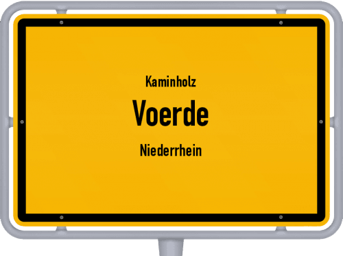 Kaminholz & Brennholz-Angebote in Voerde (Niederrhein), Großes Bild
