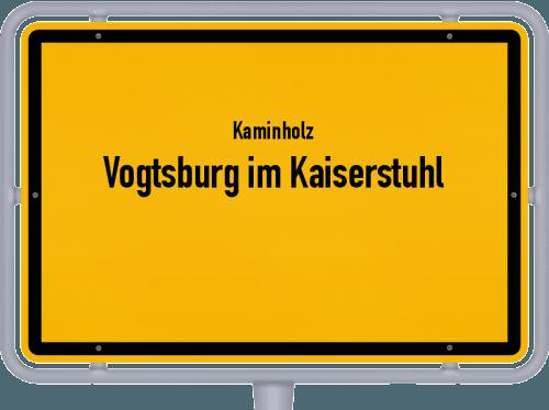 Kaminholz & Brennholz-Angebote in Vogtsburg im Kaiserstuhl, Großes Bild