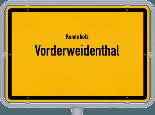 Kaminholz & Brennholz-Angebote in Vorderweidenthal, Großes Bild