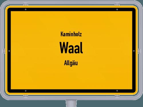 Kaminholz & Brennholz-Angebote in Waal (Allgäu), Großes Bild