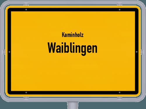 Kaminholz & Brennholz-Angebote in Waiblingen, Großes Bild