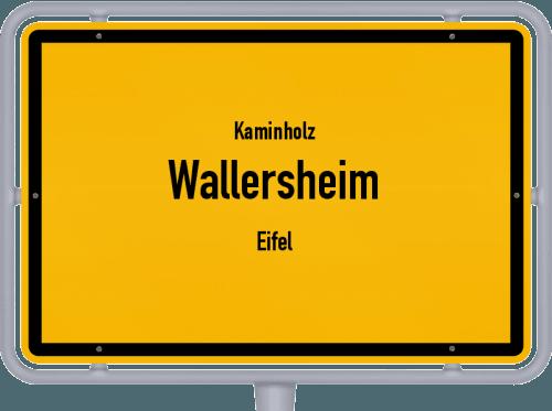 Kaminholz & Brennholz-Angebote in Wallersheim (Eifel), Großes Bild