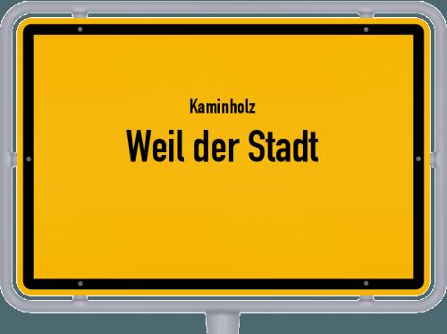 Kaminholz & Brennholz-Angebote in Weil der Stadt, Großes Bild
