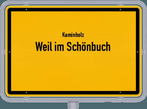 Kaminholz & Brennholz-Angebote in Weil im Schönbuch, Großes Bild