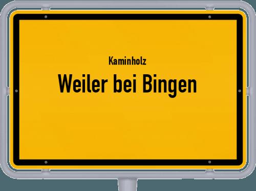 Kaminholz & Brennholz-Angebote in Weiler bei Bingen, Großes Bild