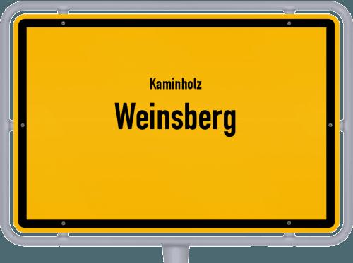 Kaminholz & Brennholz-Angebote in Weinsberg, Großes Bild
