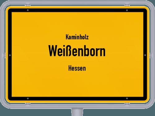 Kaminholz & Brennholz-Angebote in Weißenborn (Hessen), Großes Bild