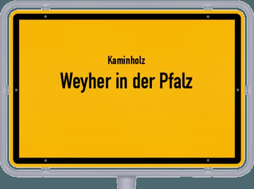 Kaminholz & Brennholz-Angebote in Weyher in der Pfalz, Großes Bild