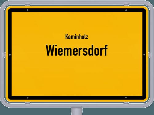 Kaminholz & Brennholz-Angebote in Wiemersdorf, Großes Bild