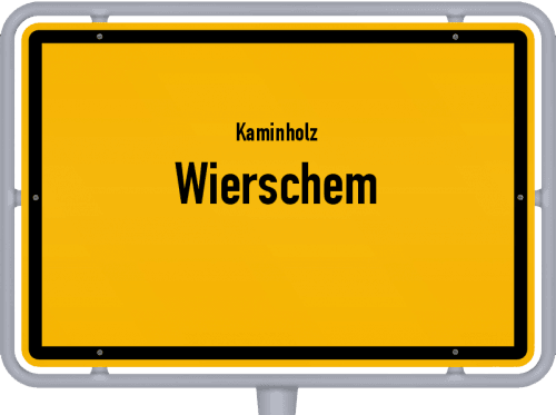 Kaminholz & Brennholz-Angebote in Wierschem, Großes Bild
