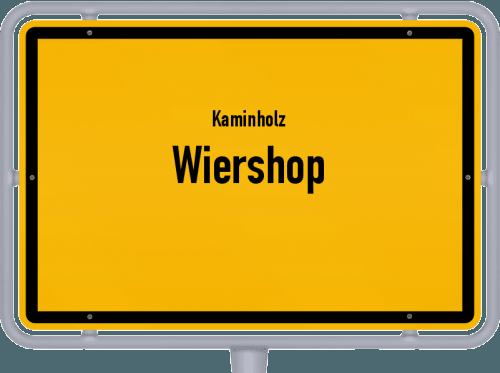 Kaminholz & Brennholz-Angebote in Wiershop, Großes Bild
