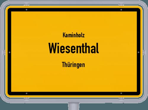 Kaminholz & Brennholz-Angebote in Wiesenthal (Thüringen), Großes Bild