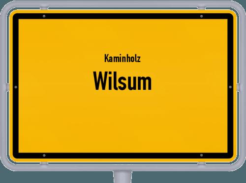 Kaminholz & Brennholz-Angebote in Wilsum, Großes Bild